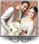 Wedding of Hashini &amp Dinesh